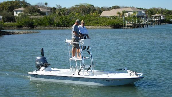 Bossman 18 Skimmer Boca Grande Tower | Fishing | Boat