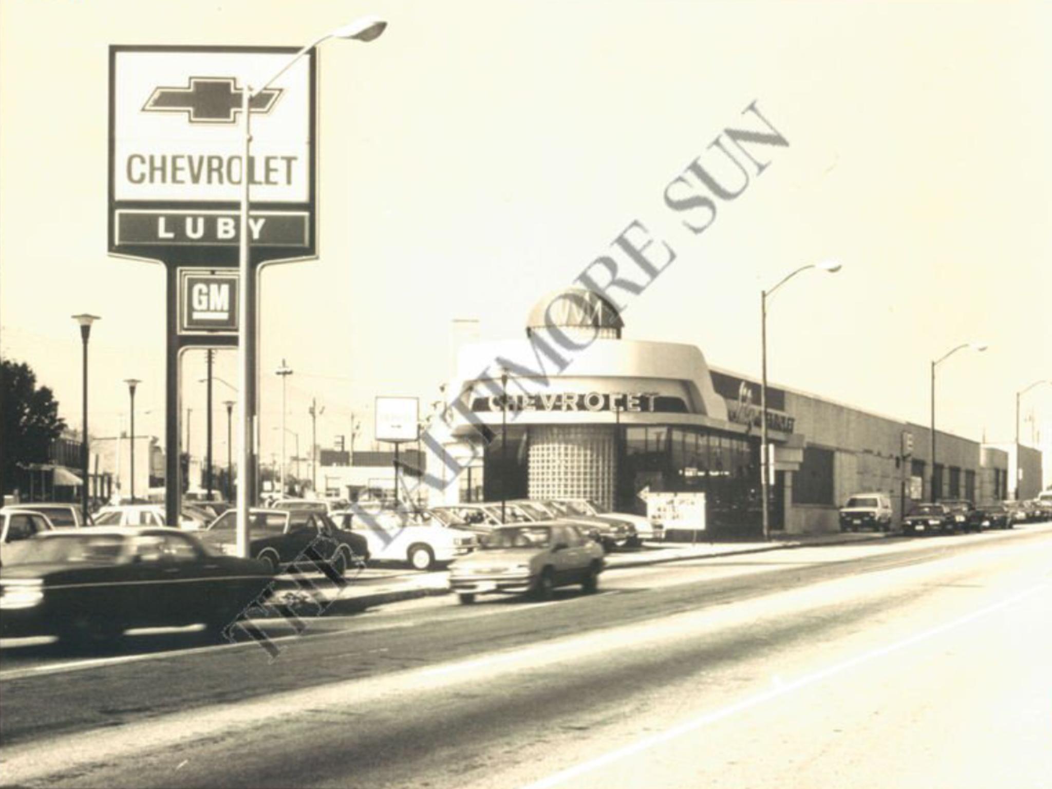 Luby Chevrolet Dealership Baltimore Maryland Chevrolet Dealership Chevrolet Car Dealership