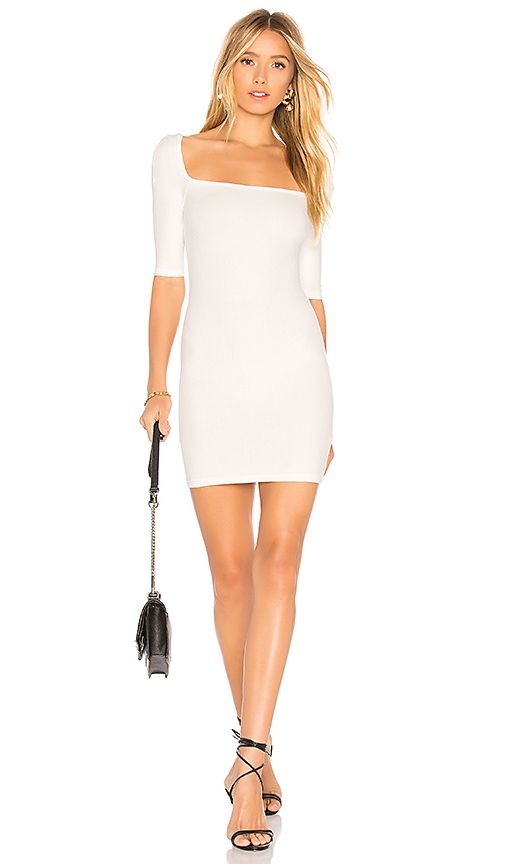 314bbe661c4 LIONESS Night Is Young Dress in White