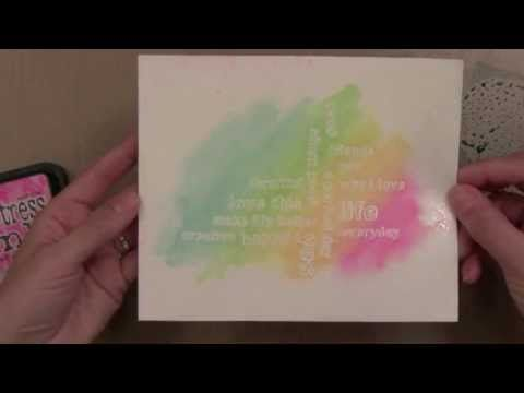Video: Quick Watercolor Backgrounds by Jennifer McGuire