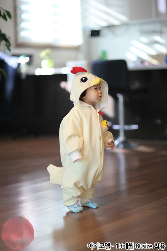412d4afeaa3 Chicken Rooster Costume Animal Kigurumi Pajamas For Kids Cosplay Unisex  Onesie