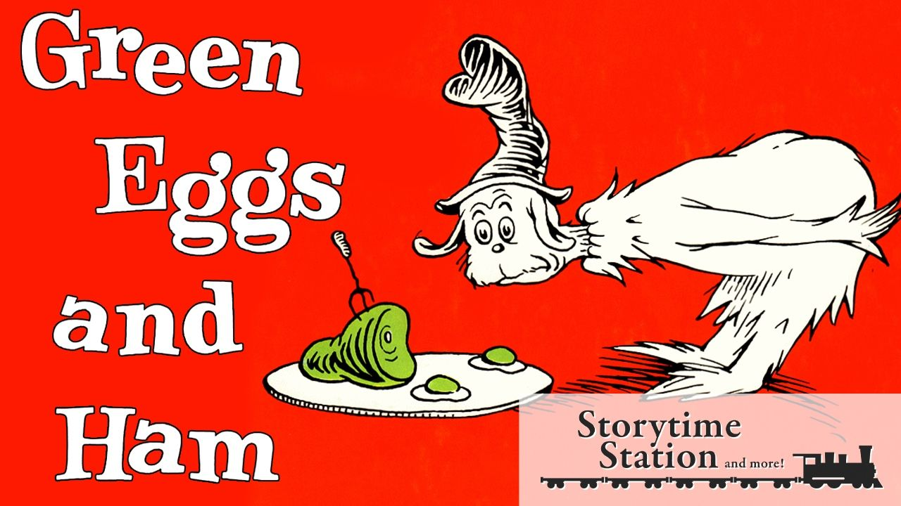 Green Eggs and Ham By Dr. Seuss Books for kids read