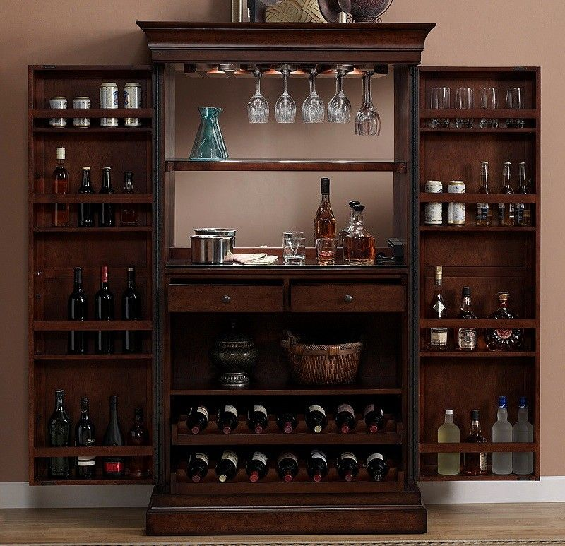 Elegant Wine Rack Cabinets Furniture