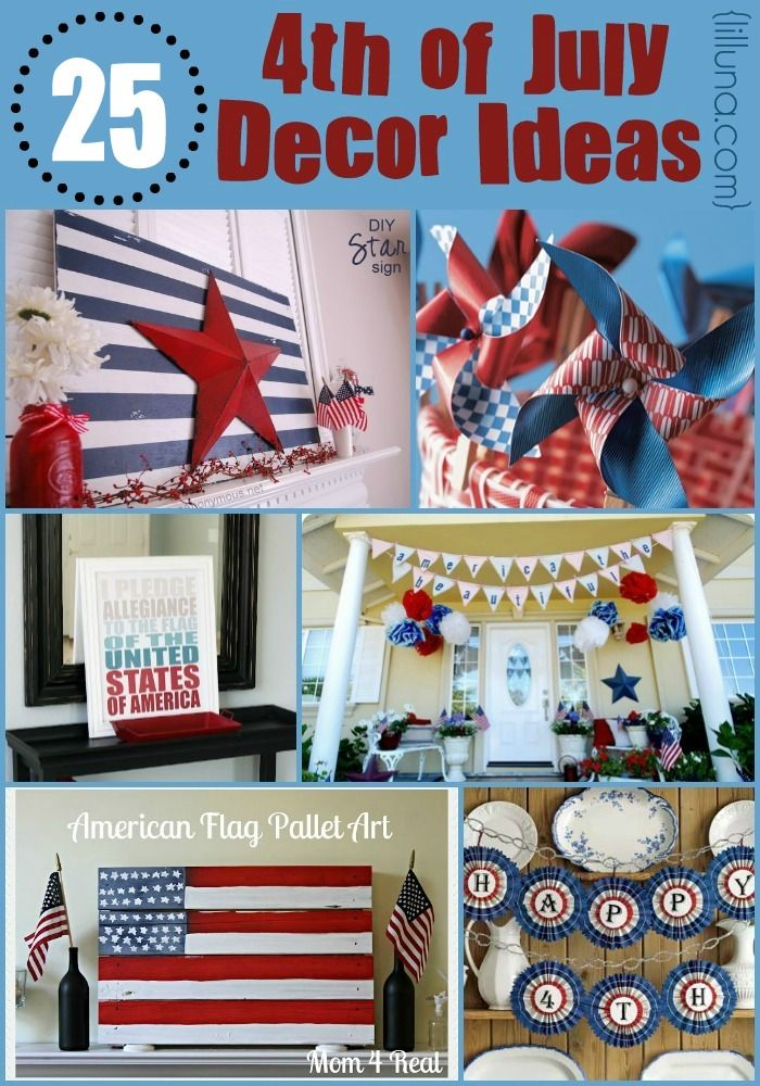 4th of july decor ideas tons of amazing decorations for for 4th of july party decoration