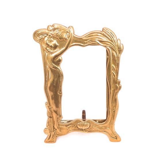 Free vids vintage brass frame