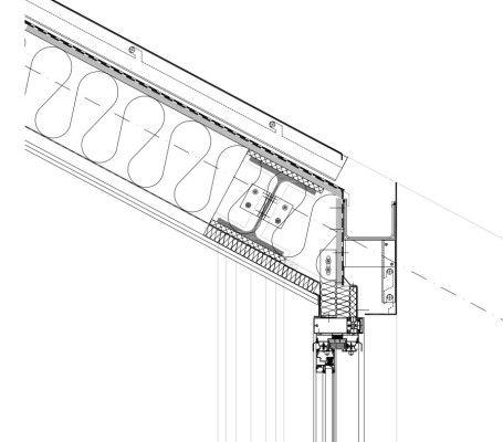 dachdetail aufbau von au en nach innen cortenstahltafeln alu unterkonstruktion dachdichtung. Black Bedroom Furniture Sets. Home Design Ideas