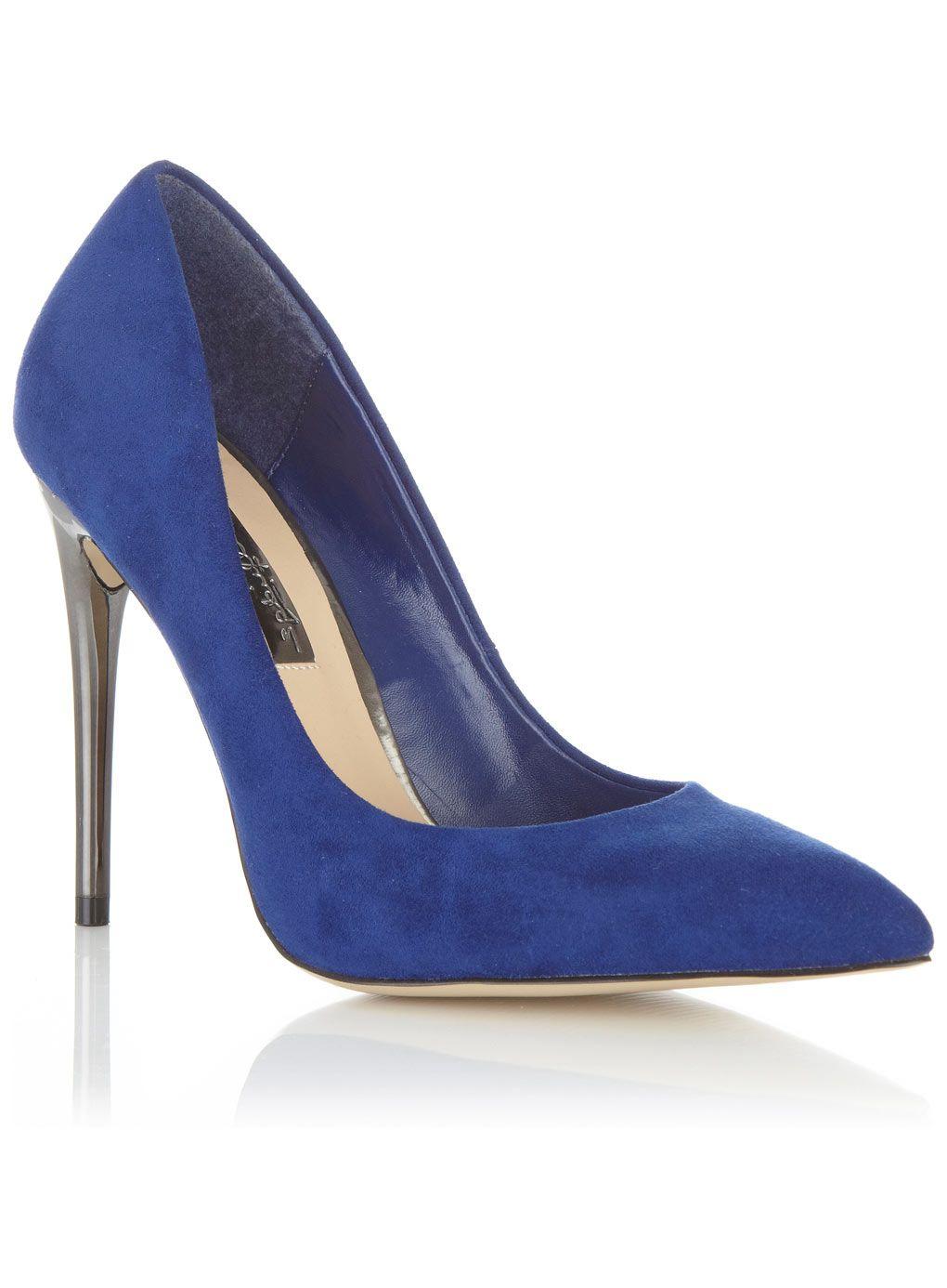Blue Court Heels | Tsaa Heel