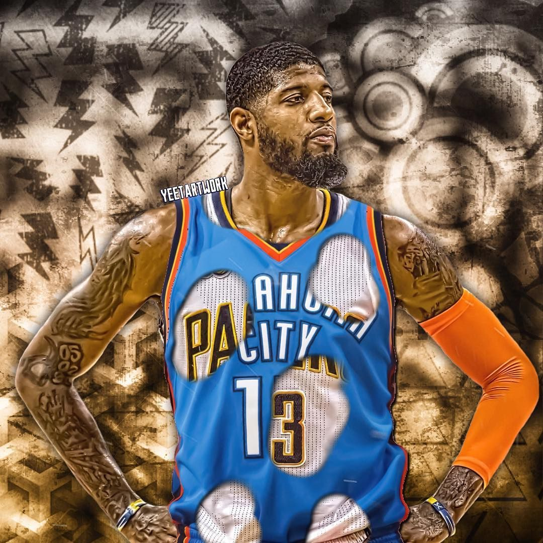 Paul George #13 #OKCThunder #Thunderup | basketball. | Nba ...