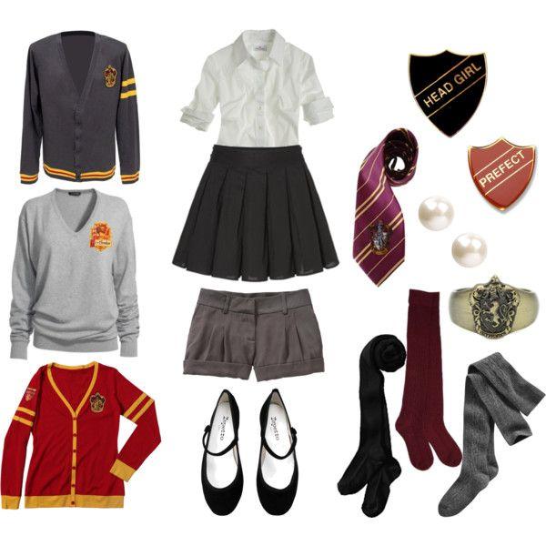 gryffindor girl 39 s uniform. Black Bedroom Furniture Sets. Home Design Ideas