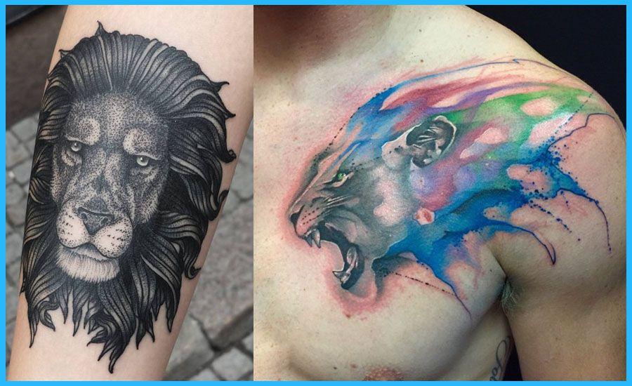 Mejores Tatuajes De Leones Tatuajes 3d De Leones Mejores Tatuajes