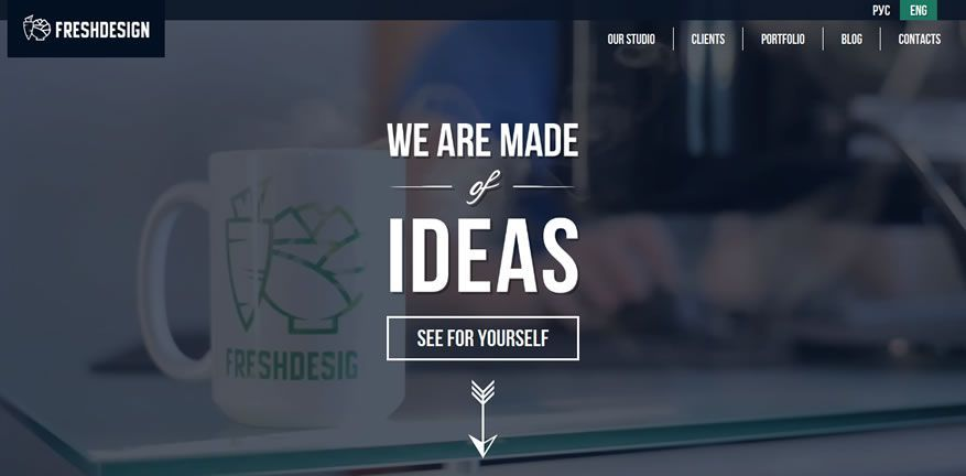 How To Create A Full Screen Video Background With Html5 Video Web Design Website Design Inspiration Fresh Design