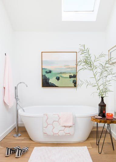Emily Henderson's Best Tips For A Bed And Bath Refresh  Apartment Amusing Small Bathroom Design Tips Inspiration Design