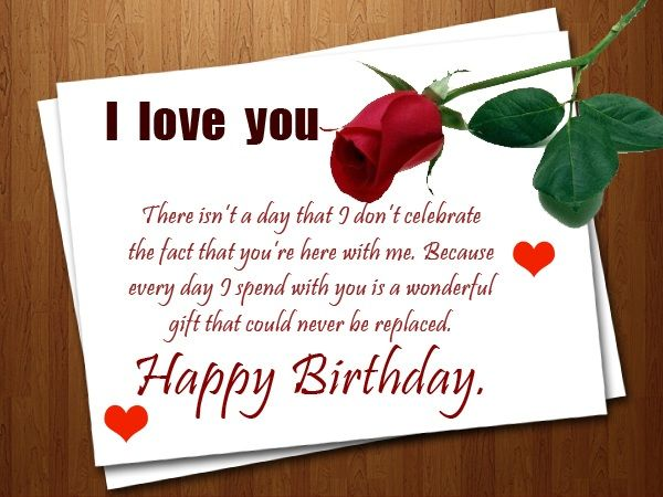 Romantic Birthday Wishes Birthday Cards – Romantic Birthday Greeting Cards