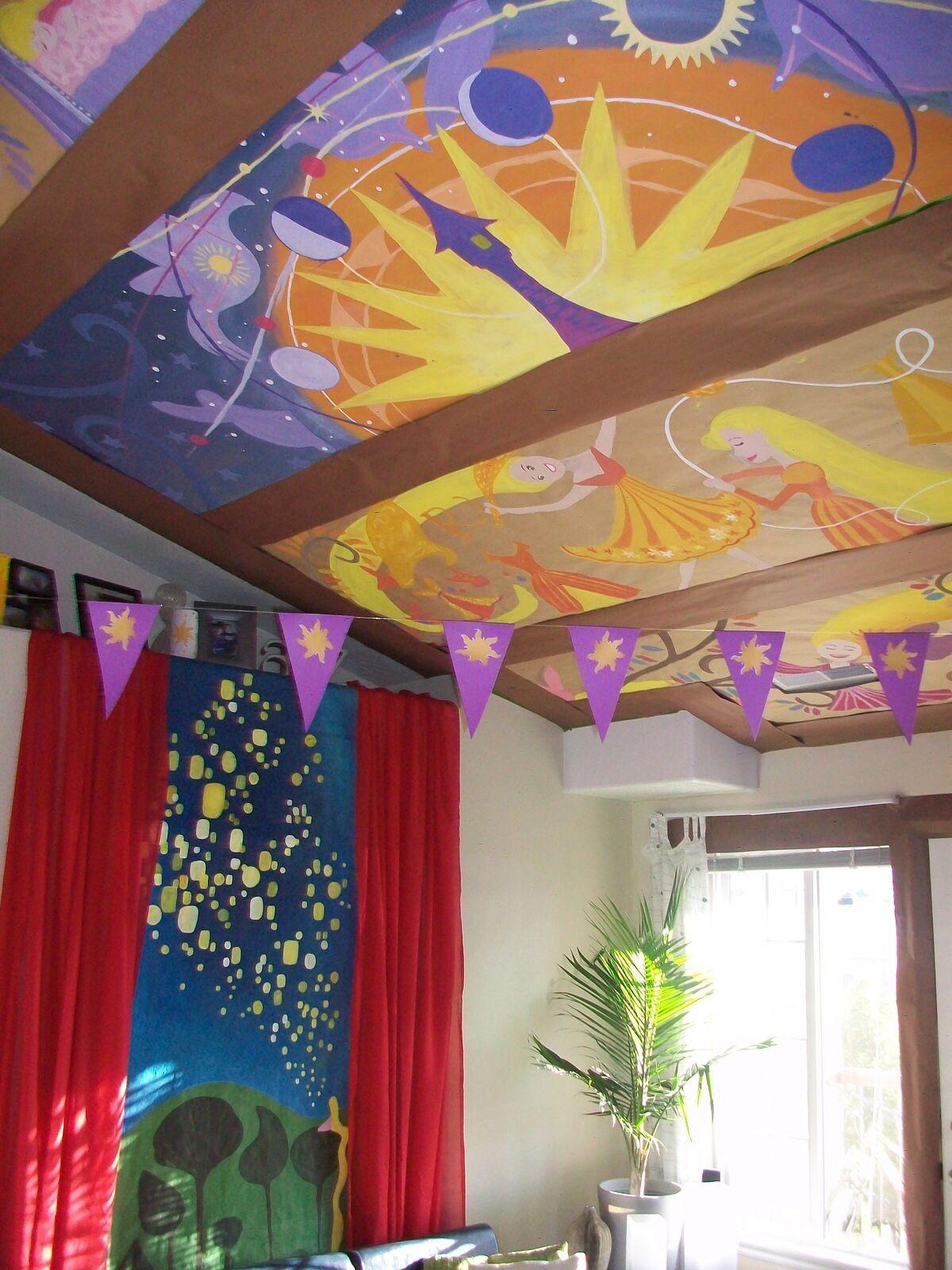 rapunzel room verwarde kamer disney in de knoop disney woninginrichting disney kamer decoraties