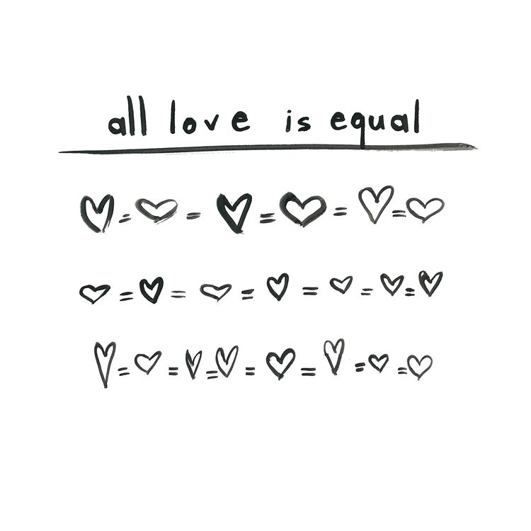 All Love Is Equal  E D A