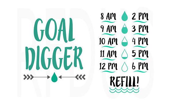 361bd048f7 Goal Digger SVG, Drink your effing water svg, Drink up buttercup svg, water  bottle svg, water tracker svg, cricut cutting, Fitness svg File