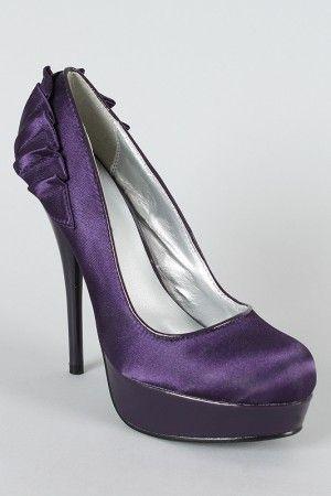purple pumps $27.90