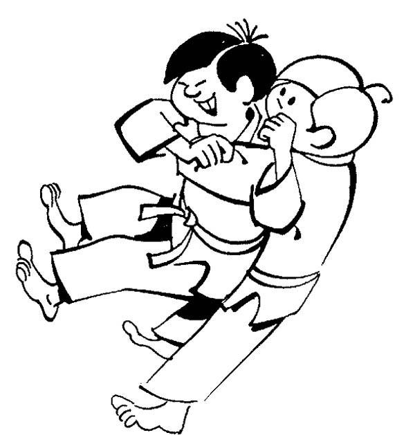 Karate Kid Sub Mission Style Coloring Page Kids Play Color Sports Coloring Pages Coloring Pages Karate Kid