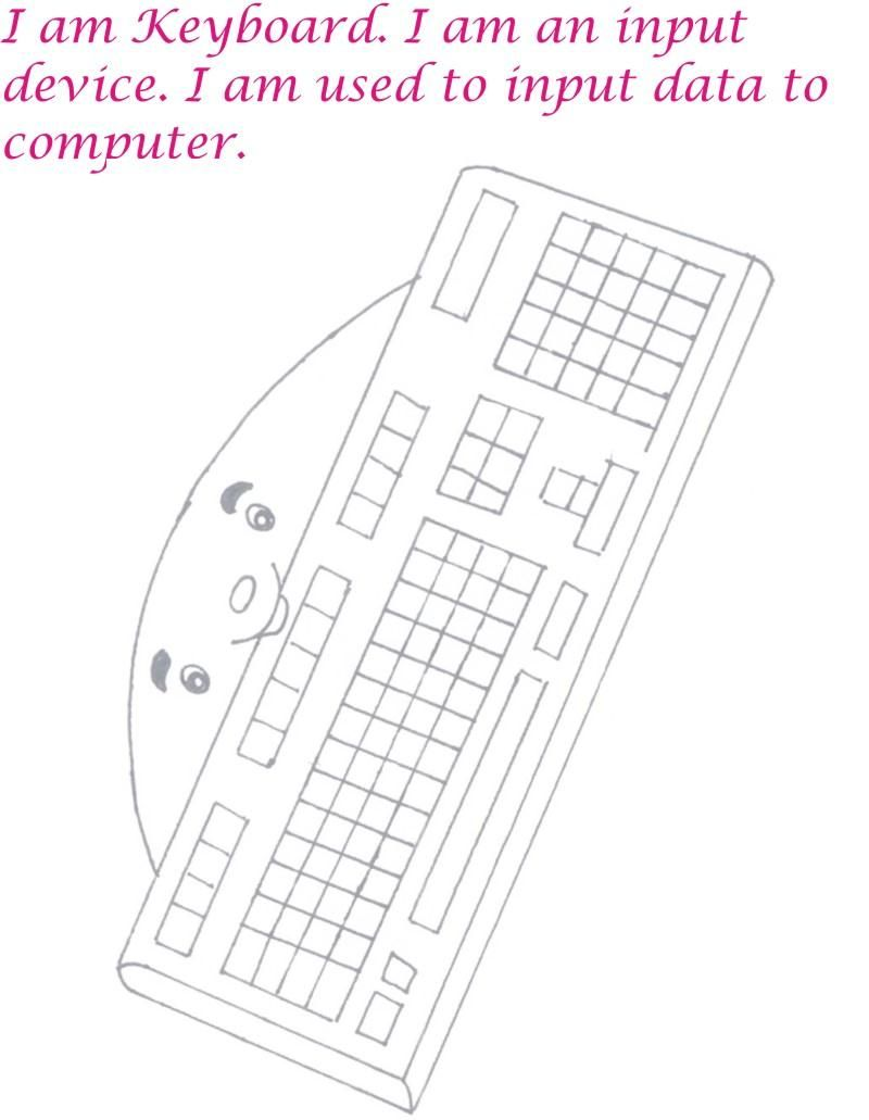 Computer Coloring Pages For Kids