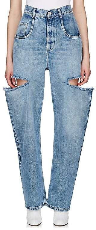 12ccbc2feca11 Maison Margiela Women's Cutout Bootcut Jeans | Products | Jeans ...