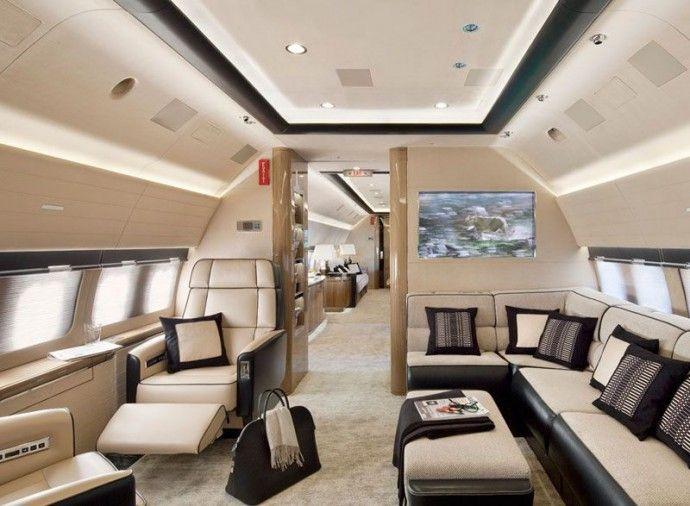 Les plus beaux int rieurs de jets priv s en 2013 avion - Les plus beaux interieurs ...