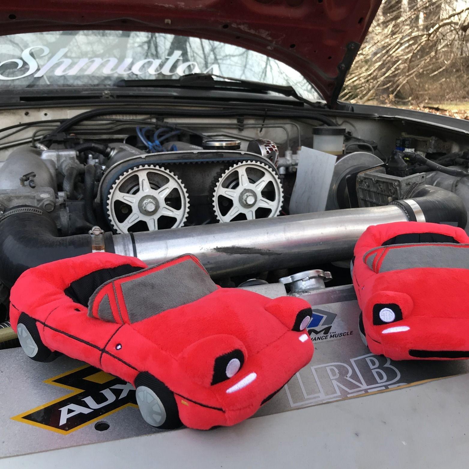 Buy Red Miata Plush Car Online