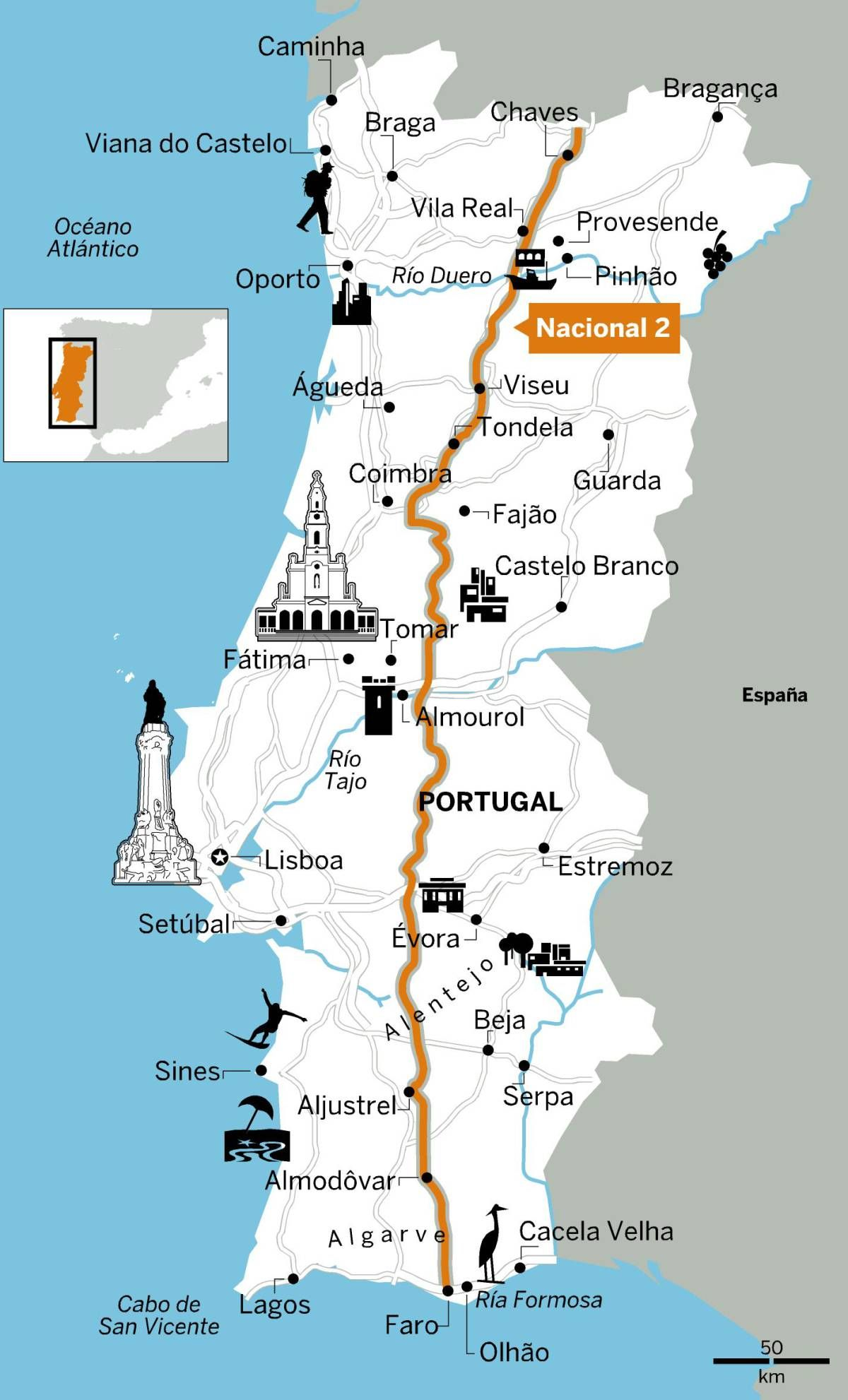 Ocho rutas para enamorarse de Portugal #traveltoportugal