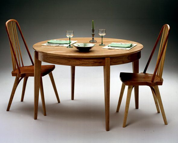 Lovely Round Table / Shaker Inspired Round Table / Round Extension Table