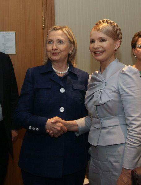 Image result for hillary clinton yulia tymoshenko