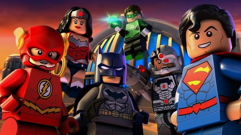 Lego Movie Dc Comics Justice League Superhero Wallpaper