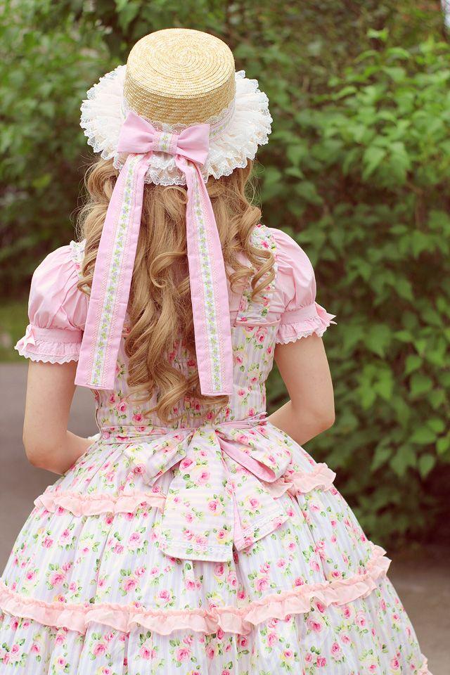Resultado de imagen para straw hat lolita
