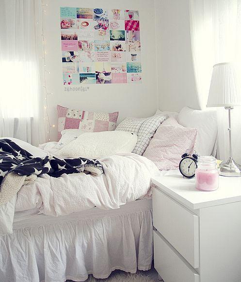 Resultado De Imagen Para Decoracion Para Cuarto De Una Nina De 12 Anos Blanca Decoracion En Blanco Decoracion De Habitaciones Dormitorio De Chicas Adolescentes