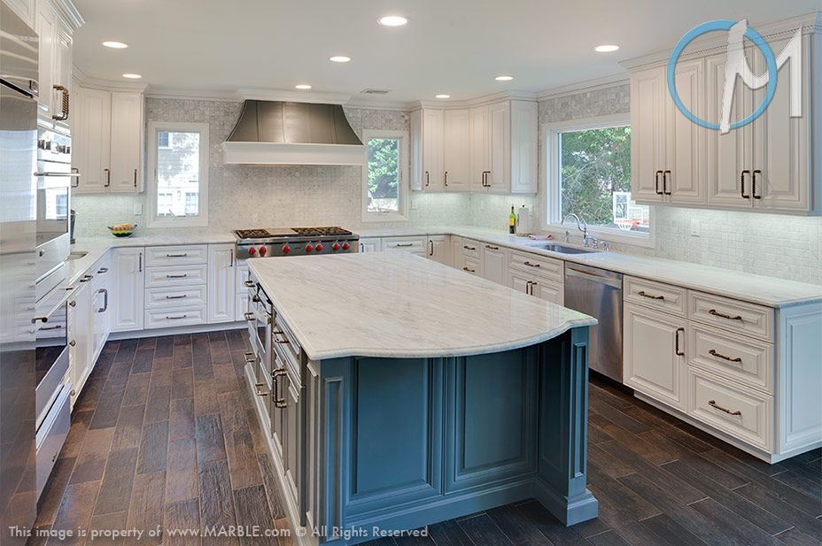 Awesome The Large, Beautiful Island Is Made From Classic White Lunar Quartzite U0026  Acts As The
