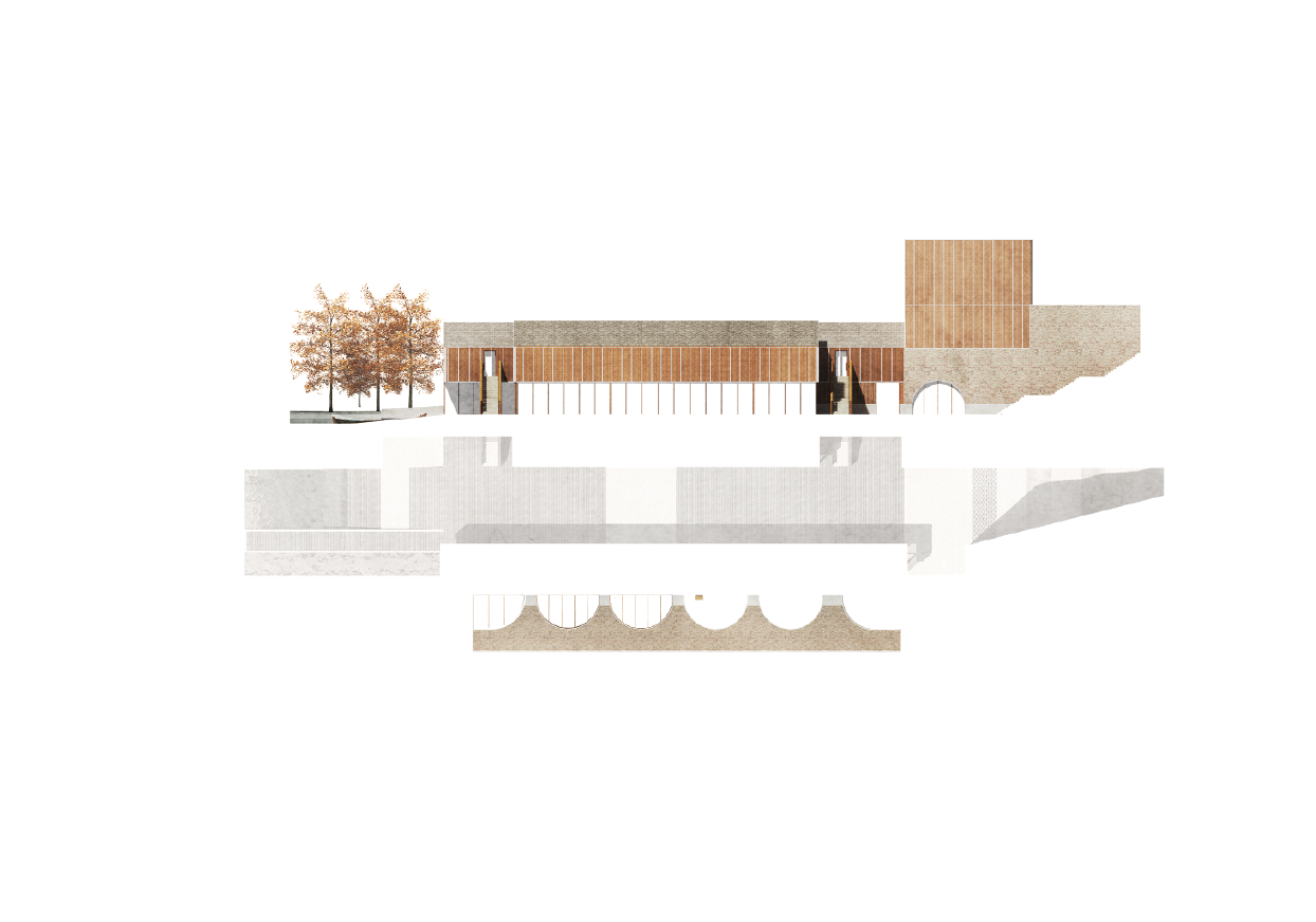 Kristian James, Manchester School of Architecture , MArch - Continuity in Architecture, Tutors: Sally Stone, Laura Sanderson, John Lee, David Connor Museo galleggiante di cose Milano The project has investigated an urban pocket of Milan towards the...
