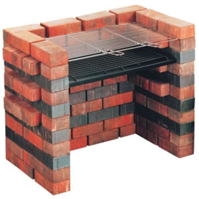 Brick Grills And Outdoor Countertops Building Your: Landmann DIY Make Your Own Brick BBQ