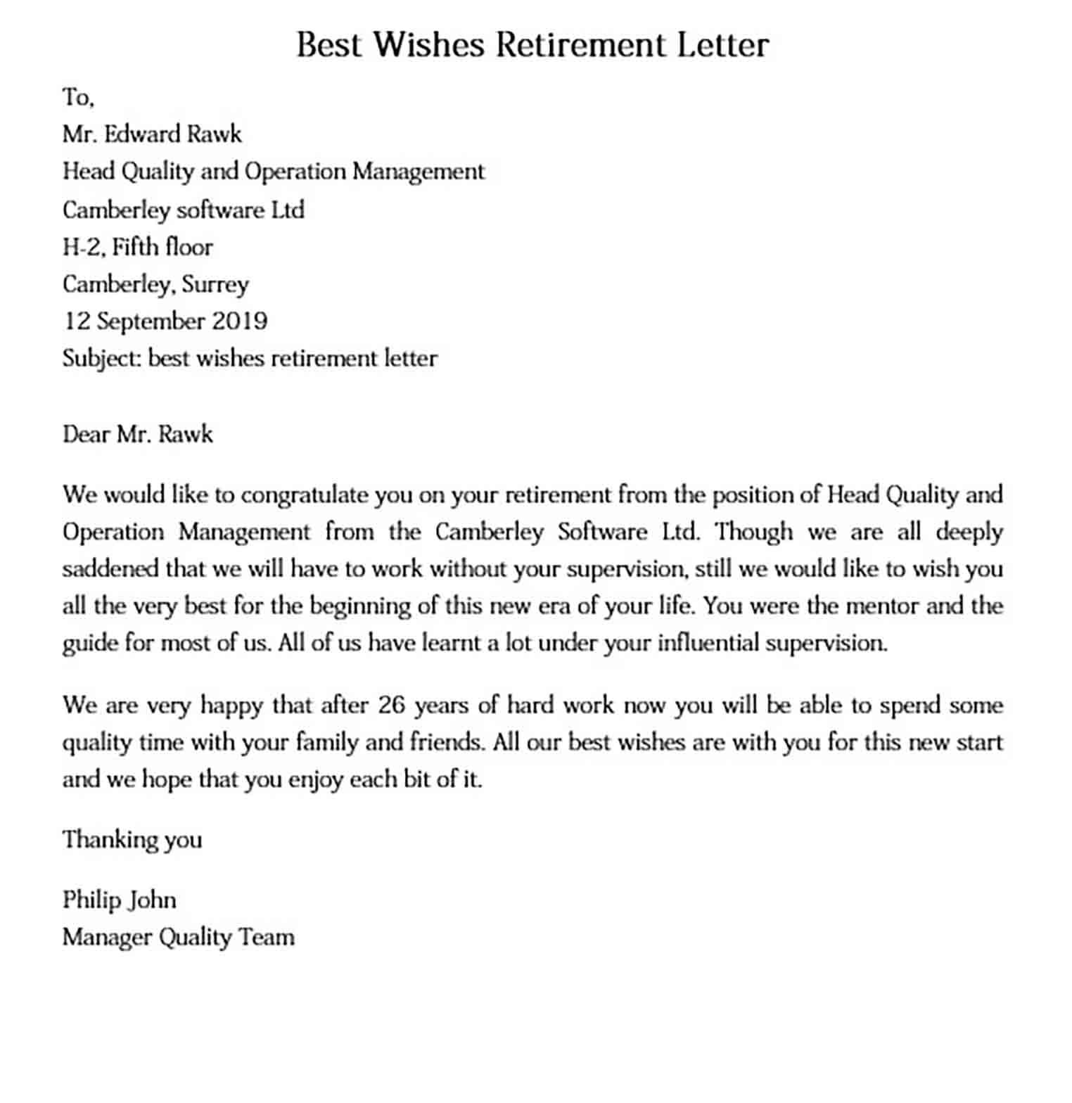 Retirement Letter And How To Make It Amazed The Reader Check More At Http Moussyusa Com Retirement Letter Operations Management Lettering Retirement