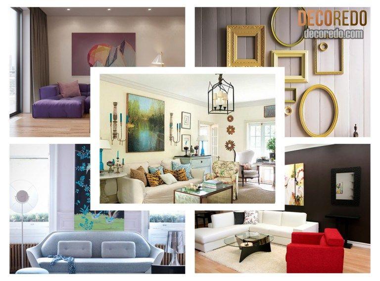 Living room wall art ideas also decor pinterest rh