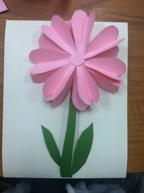 Pop Up Flowers Diy Printable Mother S Day Card With Images Diy