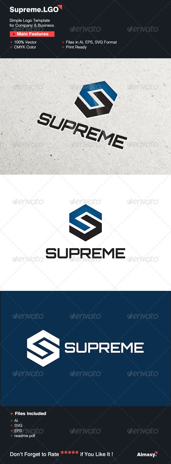 Supreme Logo Template Logo templates, Templates, Logos