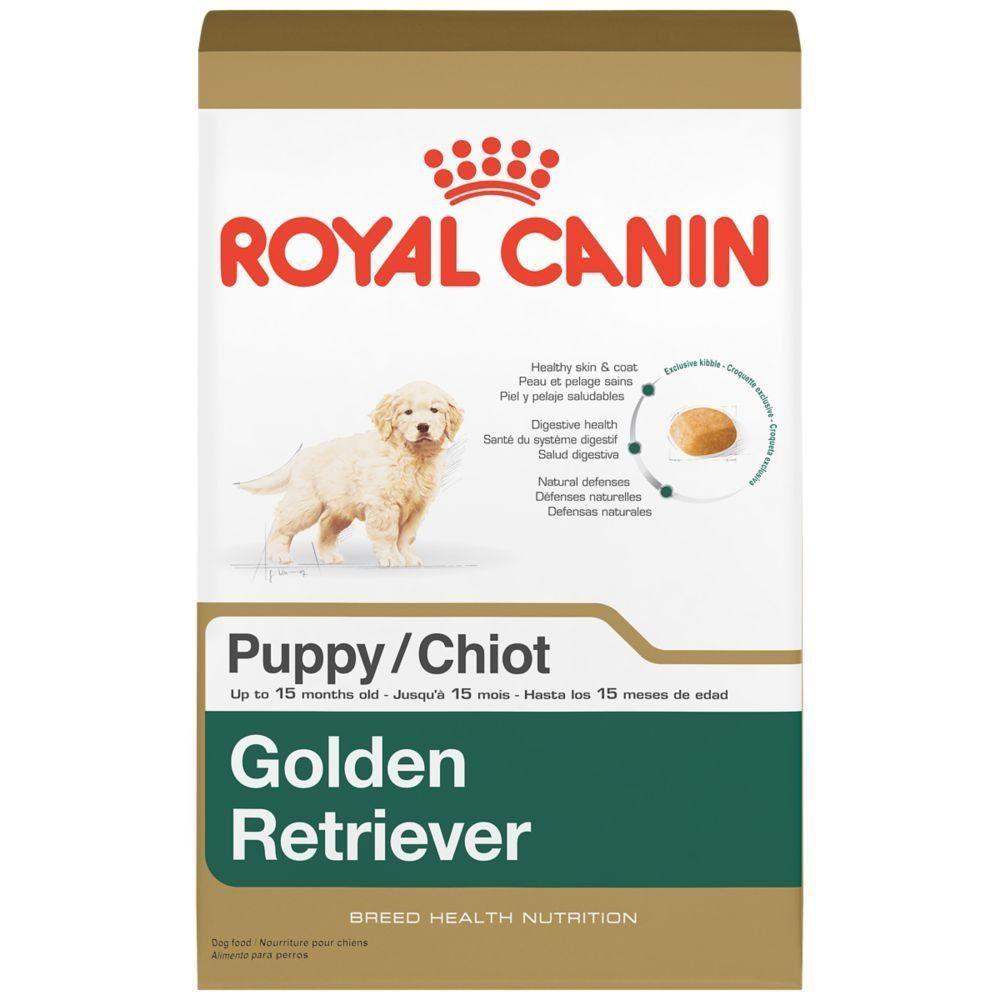 Royal canin breed health nutrition golden retriever puppy