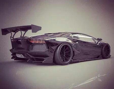 Lamborghini Aventador by LB*Works..