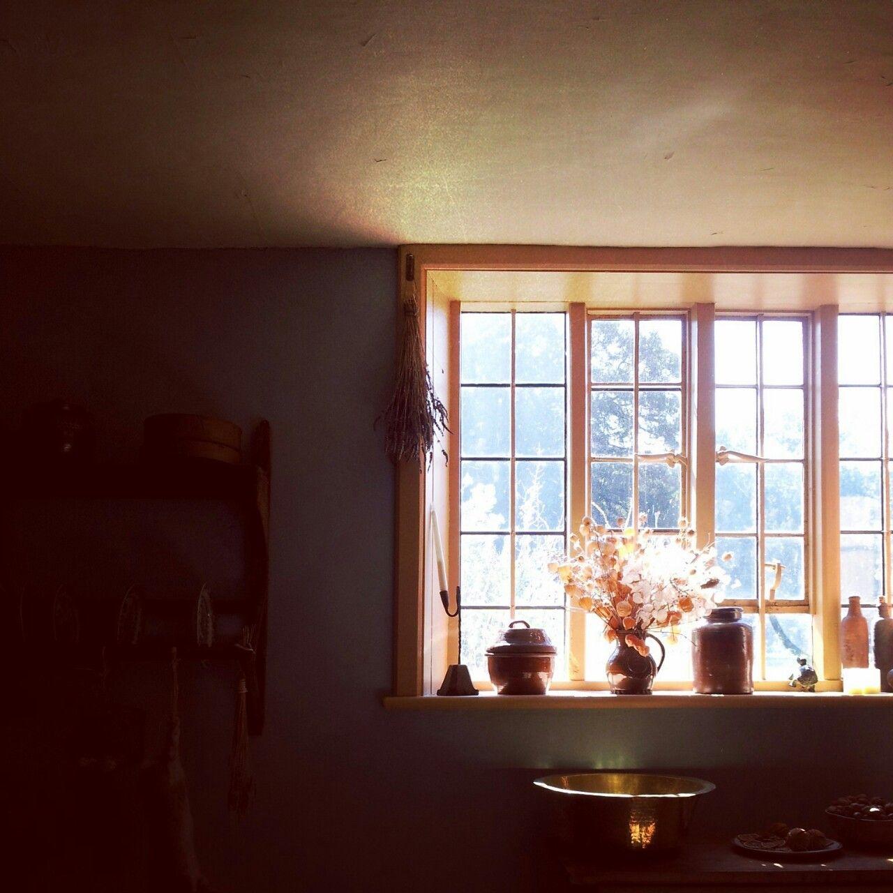 The kitchen at Gilbert White's house.