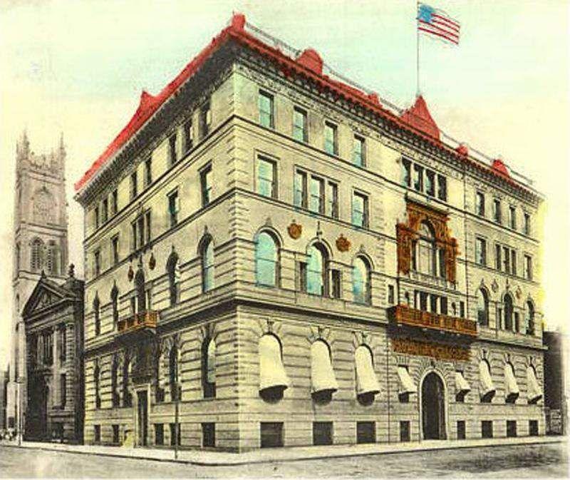 The Phoenix: Race Street's Italian palace