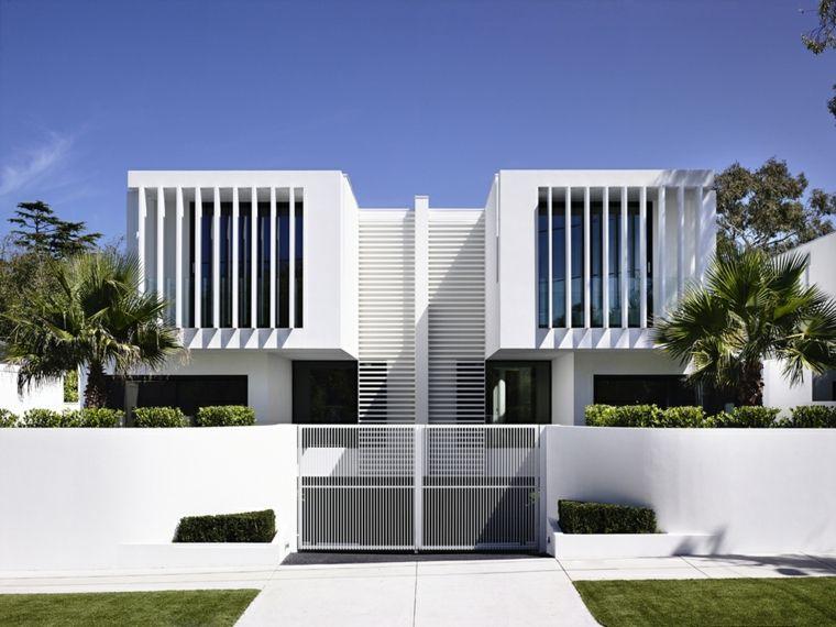 Fachadas de casas modernas treinta y ocho dise os town for Archi in casa moderna