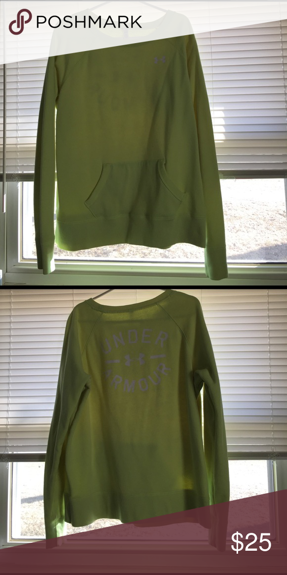 UA sweater Warm! Cute color for spring! Under Armour Tops Sweatshirts & Hoodies