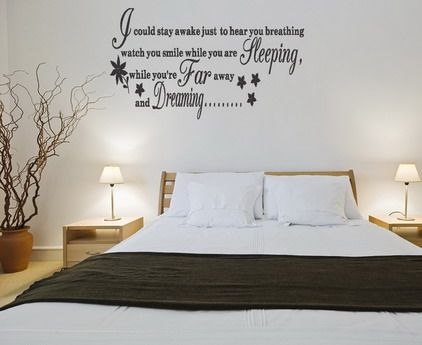 Love And Life Quotes Sayings Removable Wall Stickers Decals For Bedroom Decorating Ideas Home With