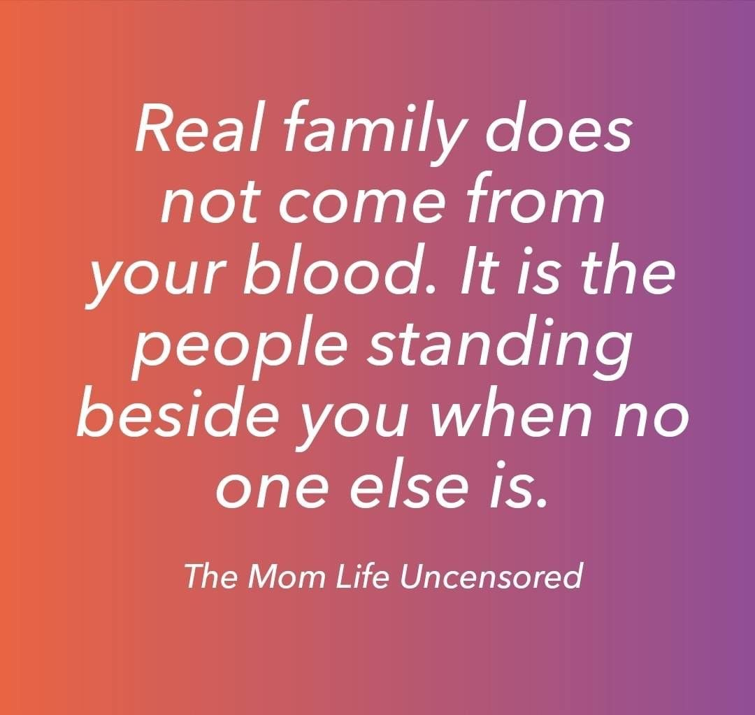 Pin by Angie Baker on words to live by Real family