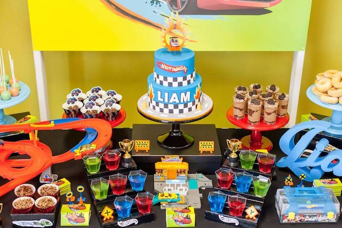 Hot Wheels Car Birthday Party Hot Wheels Birthday Hot Wheels