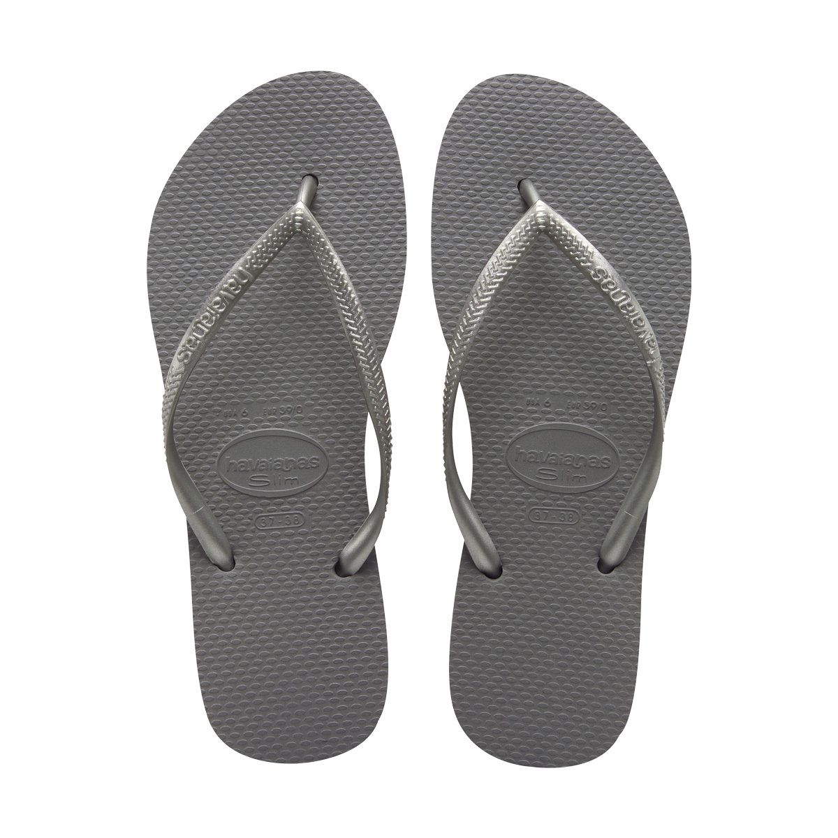 ff8b158d2 37 38 - Steel Grey - Women s Slim Thong Flip Flop Steel Grey ...