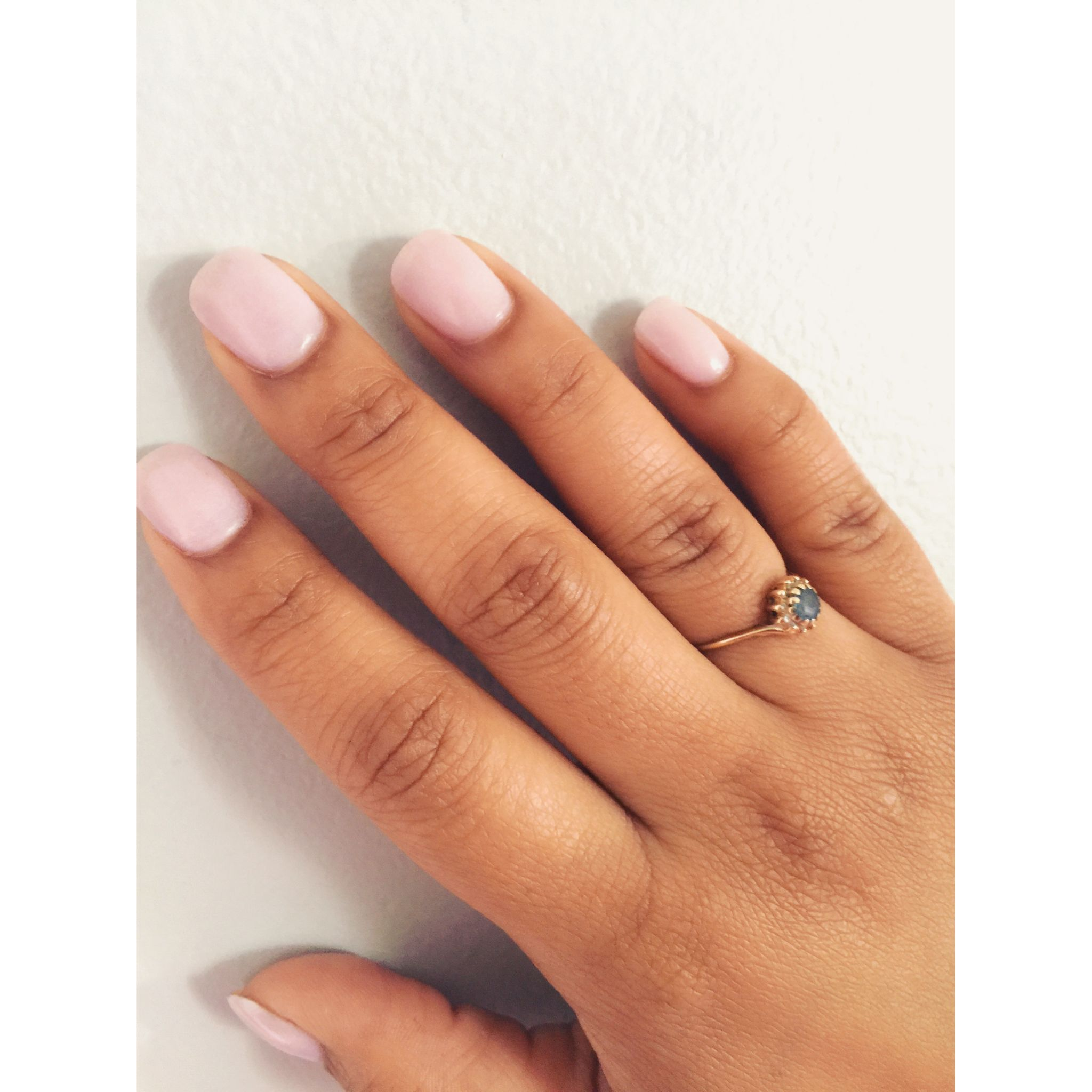 Sns 56 Barely There Pink Neutral Colors Spring Nail Colors